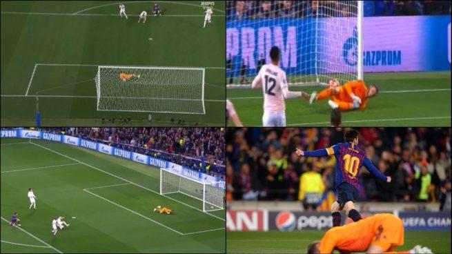 De Gea hizo 'un Arconada' para regalar el segundo gol a Messi
