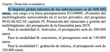 Ximo Puig gasta 600.000€ en subvencionar festivales y conciertos en valenciano
