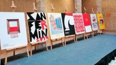 Los ocho carteles que participan en el concurso del que saldrá elegido el cartel de los próximo Sanfermines. Foto: Europa Press
