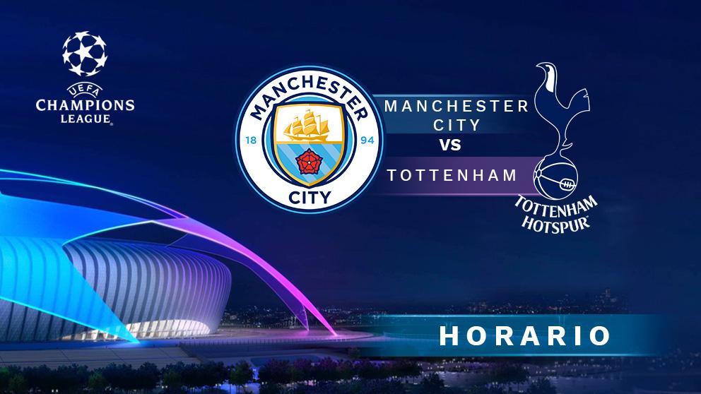 Manchester City – Tottenham: partido de vuelta de los cuartos de final de la Champions League.