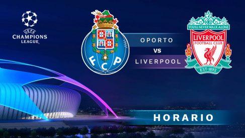 Oporto – Liverpool: partido de vuelta de los cuartos de final de la Champions League.