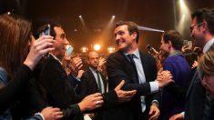 Pablo Casado en la apertura de campaña. (Foto. PP)