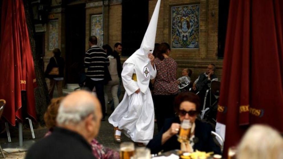 Una imagen de la Semana Santa de Sevilla 2019.