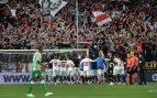 Imagen del último partido celebrado entre el Sevilla y el Betis en el Sánchez Pizjuán