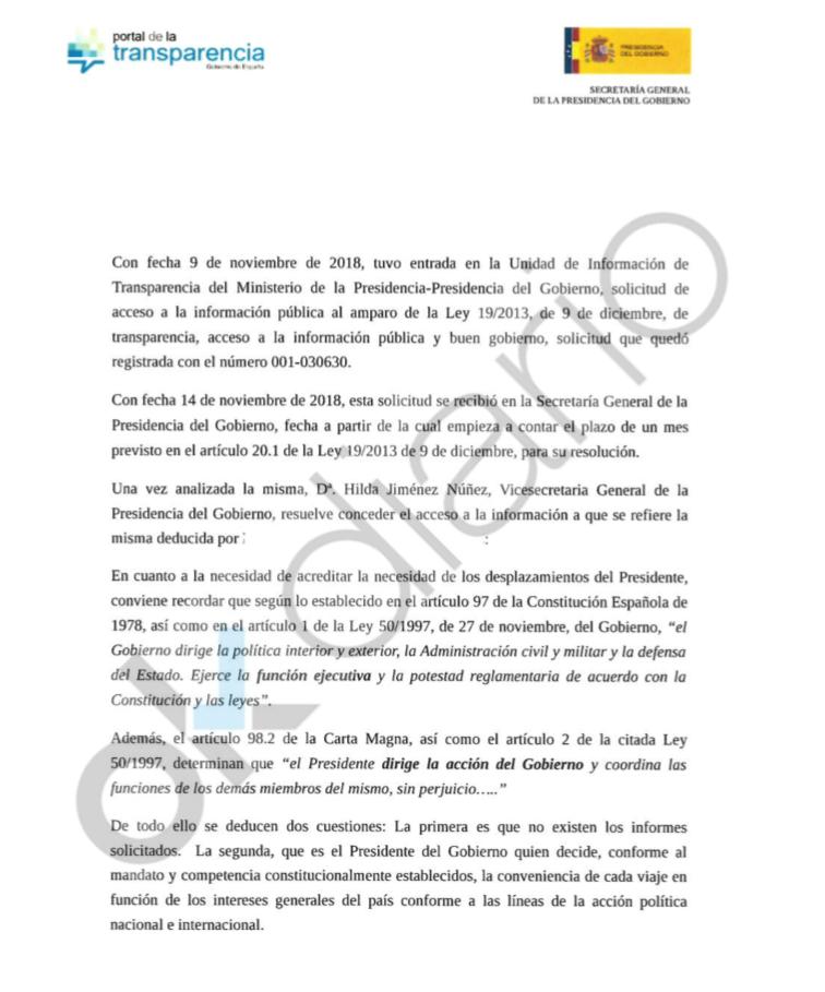 Sánchez usa el Super Puma a su libre albedrío: no justifica las razones de seguridad a las que está obligado