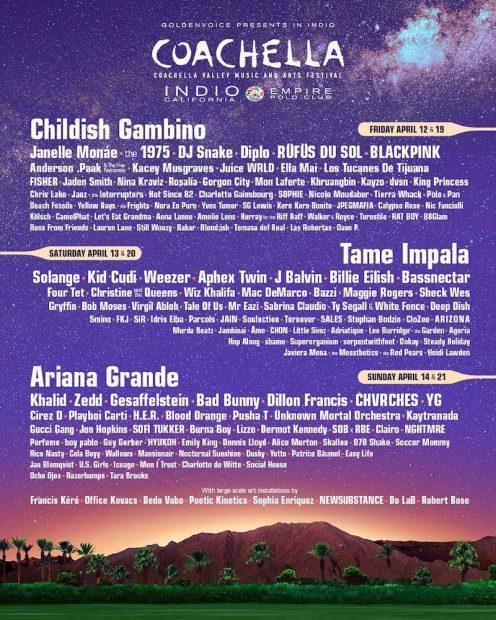 Ariana Grande cobró esta gran cantidad de dinero por su concierto en 'Coachella'