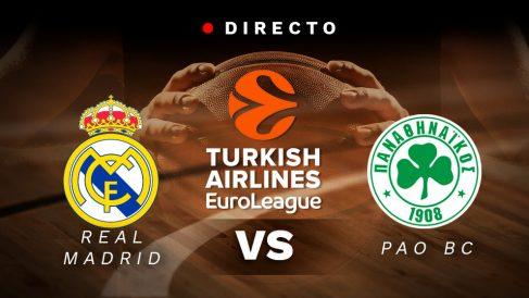 Real Madrid – Panathinaikos: partido de la Euroliga, en directo.