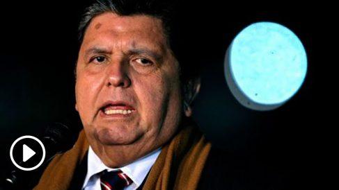 El ex presidente de Perú, Alan García. Foto: AFP