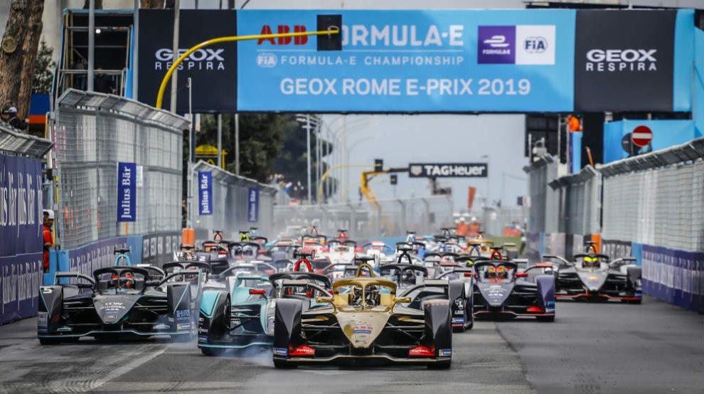 ABB Formula E en Roma