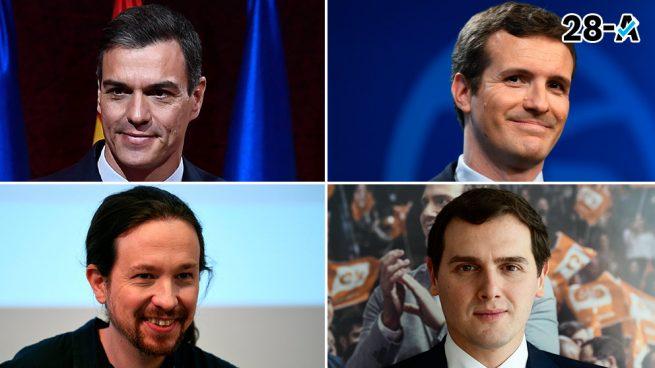 Hora del debate electoral de TVE sobre las Elecciones Generales 2019