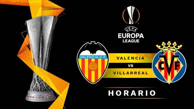 Valencia – Villarreal: hora y dónde ver el partido de la Europa League