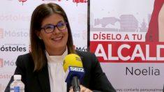 La alcaldesa de Móstoles, Noelia Posse. (Foto. Móstoles)