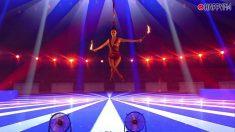 Luana Cayres en la semifinal de 'Got Talent'