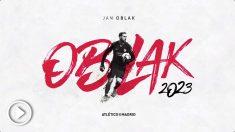 El Atlético ha hecho oficial la renovación de Oblak.
