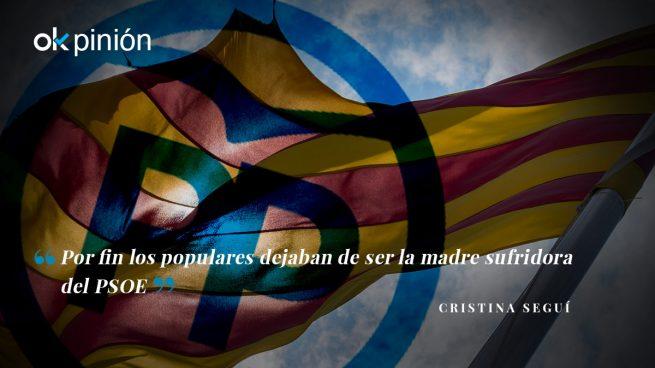 No hay 'derechita cobarde' en el PP catalán