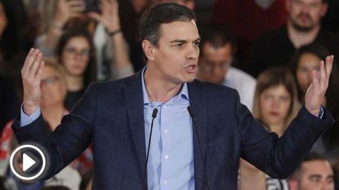 Pedro Sánchez, candidato del PSOE a las elecciones generales.