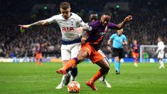 Champions League: Manchester City – Tottenham| Partido de fútbol hoy, en directo
