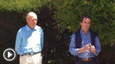 José María Aznar y Juan Carlos Fierro