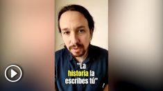 Pablo Iglesias en Twitter.