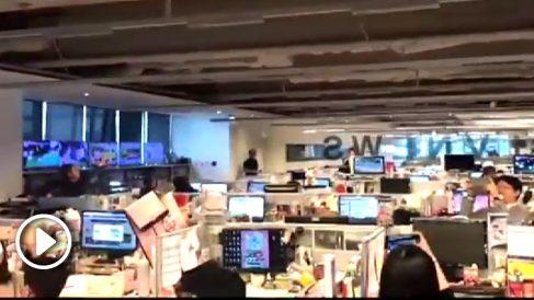 Terremoto en Taiwan.