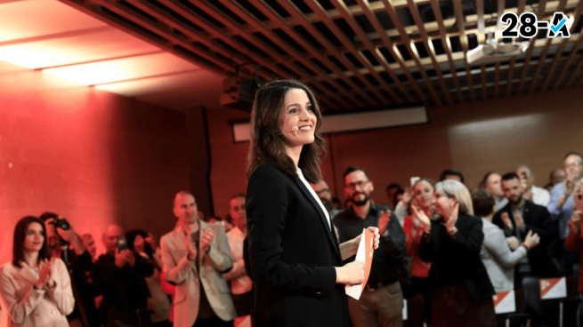 Arrimadas sobre el debate: «Sánchez no quiere que Rivera le cante las cuarenta»
