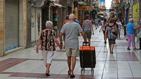 Turistas británicos en Calella, Barcelona (Foto: iStock)