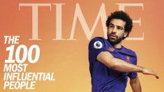 Salah es portada de la revista Time.