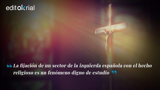 Sánchez e Iglesias ofrecen barra libre para las vejaciones a la religión