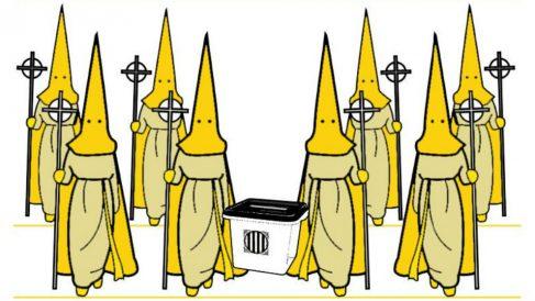 El CDR de Tarragona convoca una 'procesión amarilla' en Viernes Santo