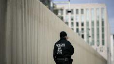 Un agente de la polica alemana