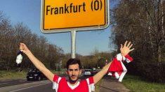 Uno de los aficionados del Benfica que se equivocó de ciudad. (@Alvarosslb1994)