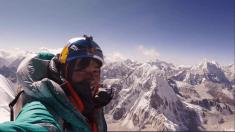 David Lama, alpinista fallecido en Canadá. Foto. Red Bull.