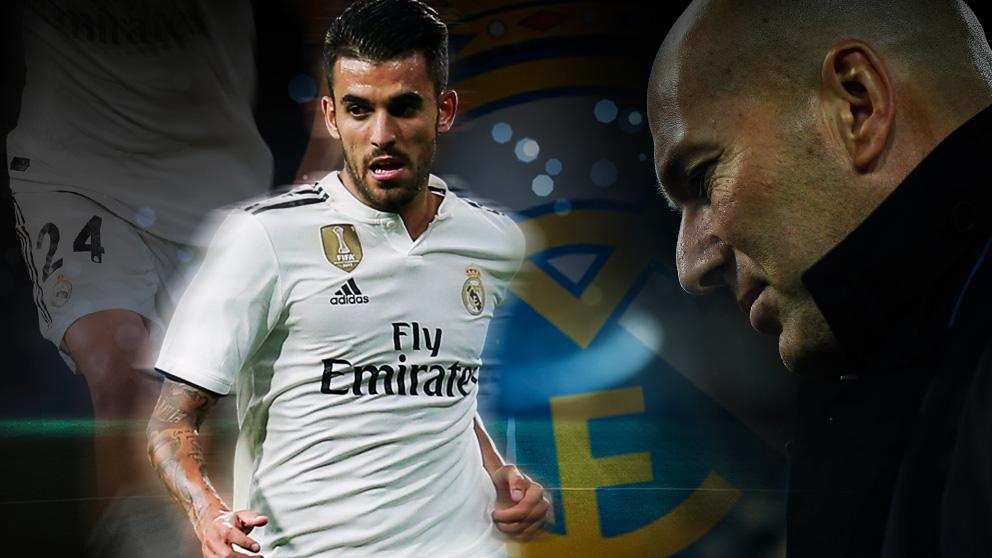 Ceballos no ha conseguido hacerse un hueco en el equipo de Zidane.