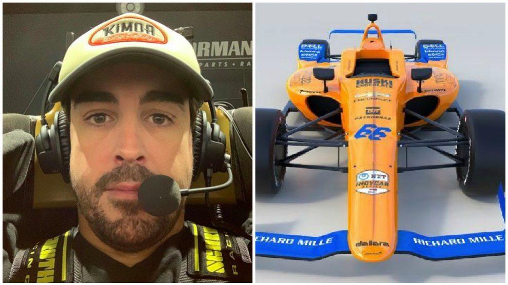 Fernando Alonso compartió en redes sociales su día de trabajo en el Viernes Santo.