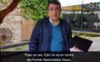"""Esteban responde con otro vídeo al de C's: """"Van contra todo el pueblo vasco"""""""