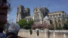 Notre Dame tras el incendio
