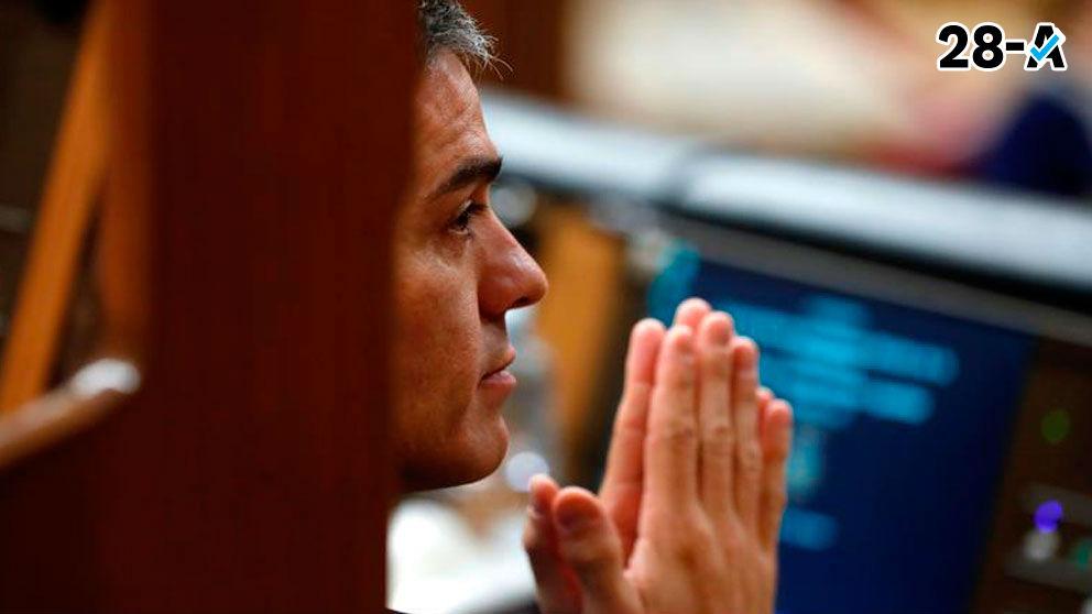 Pedro Sanchez en el Congreso. (archivo)