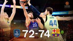 El Barcelona ganó el factor cancha en Turquía.