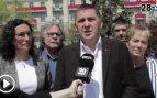 """Reunión de separatistas en Suiza: Otegi y Rovira se alían para frenar """"el autoritarismo"""" de España"""