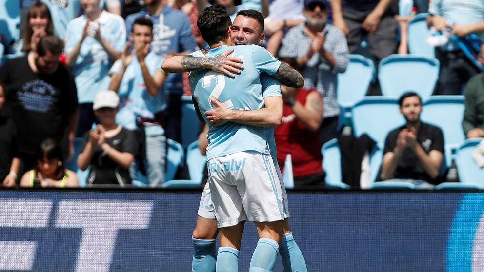 El Celta venció al Girona en Balaídos. (EFE)