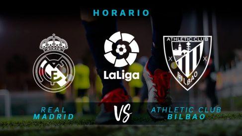 Liga Santander: Real Madrid – Athletic Club   Horario del partido de fútbol de Liga Santander.