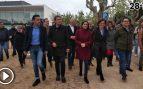 """Decenas de radicales separatistas increpan a Arrimadas en un acto en Gerona: """"¡Fuera fascistas!"""""""