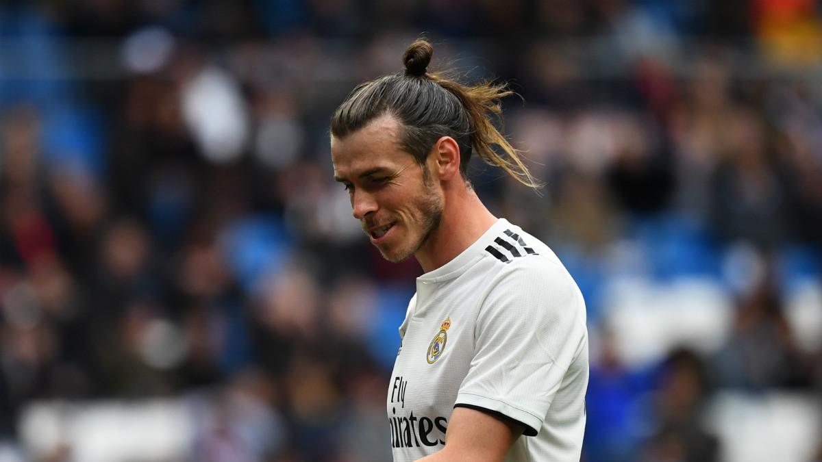 Bale, durante el Real Madrid – Athletic (AFP).