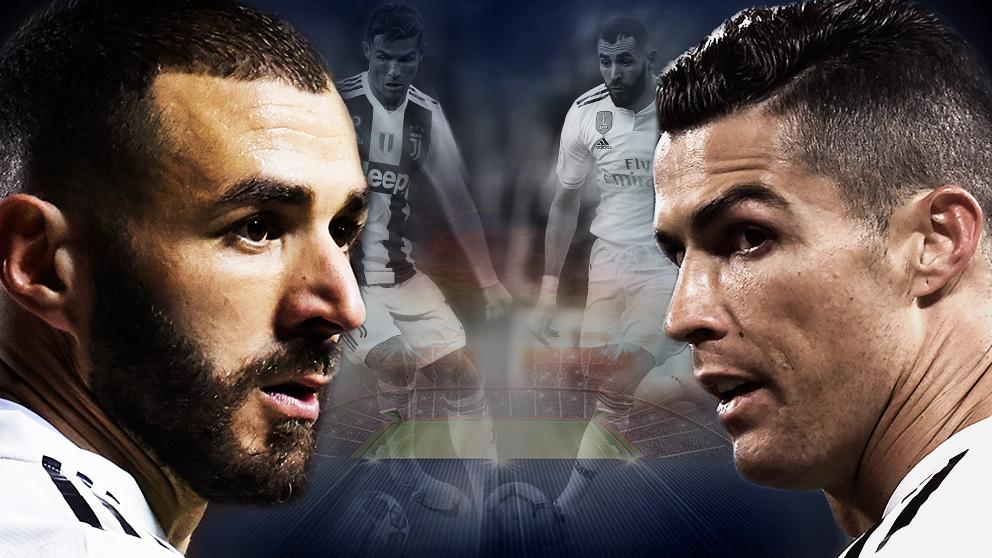 Benzema se ha disfrazado de Cristiano Ronaldo.