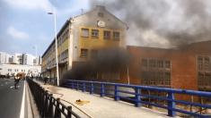 Incendio en Santander. Foto. Redes sociales