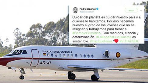 El tweet de Pedro Sánchez sobre el cambio climático.