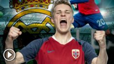 Odegaard dio tres asistencias con el Vitesse.