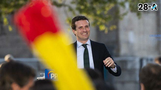 Casado quita importancia a las encuestas: «El PP siempre las ha derrotado, ganaremos y gobernaremos»
