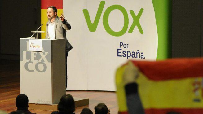 Abascal llama a «llenar las urnas de rojigualdo» para «rescatar a quienes quieren una España unida»