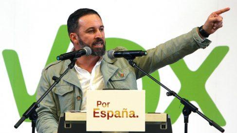 Santiago Abascal, en un acto de VOX. (EFE)